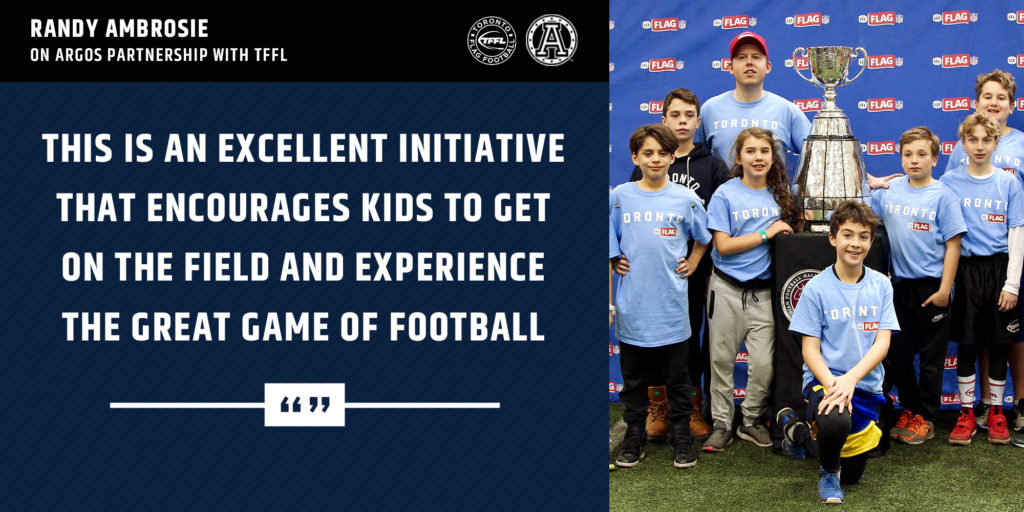 This is an excellent initiative that encourages kids to get on the field and experience the great game of football.